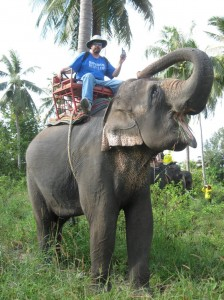 Randy and the Elephant