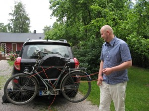 Juha and his New Bike